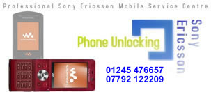 Essex Sony Ericsson Mobile Phone Unlocking